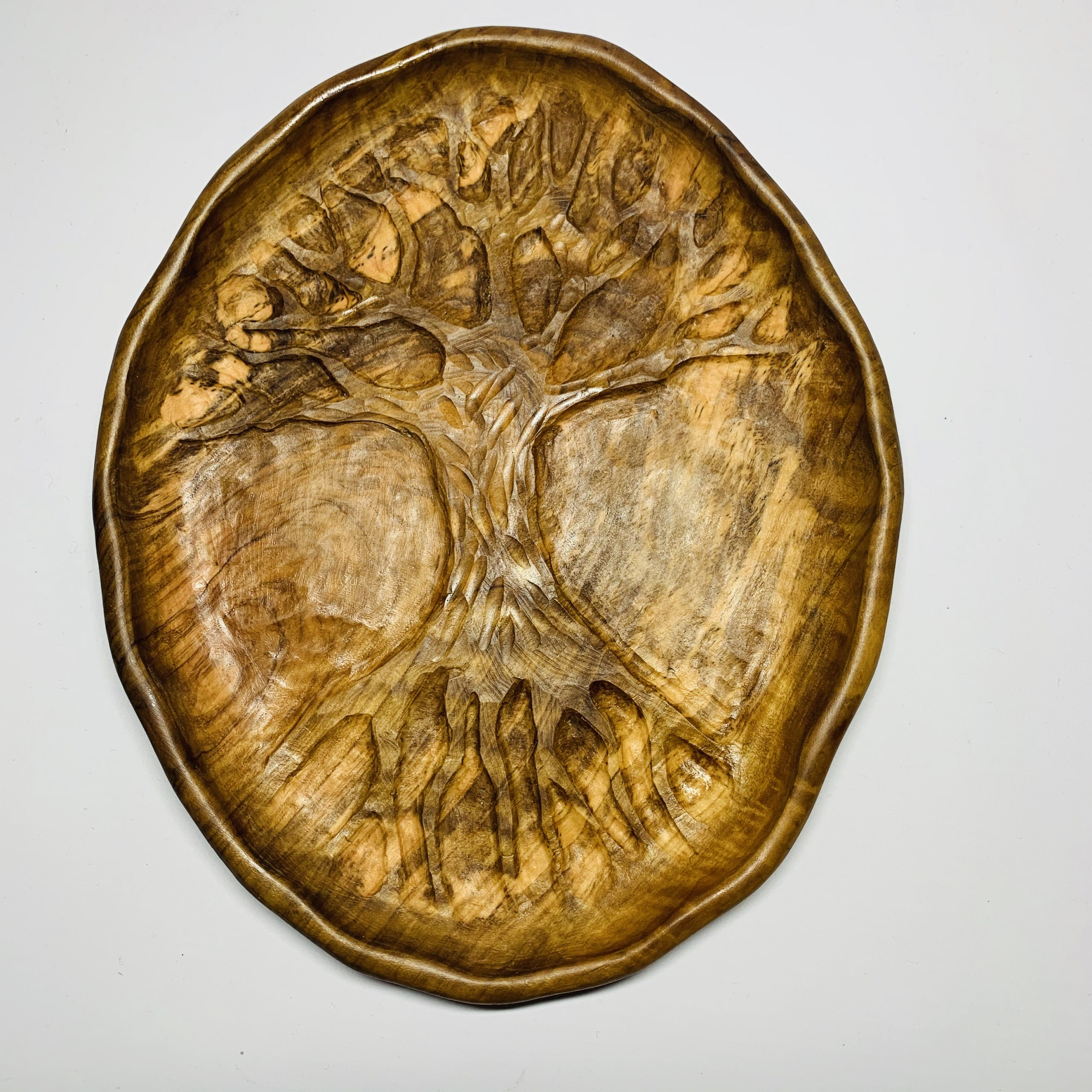 Tree Of Life Hand Carved Wall Art