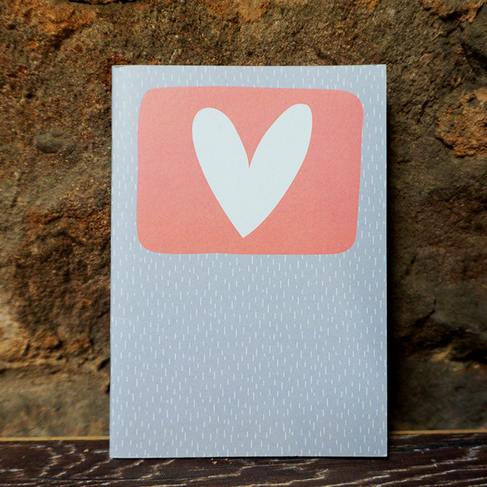 Hand – Lllustrated Notebook – Heart