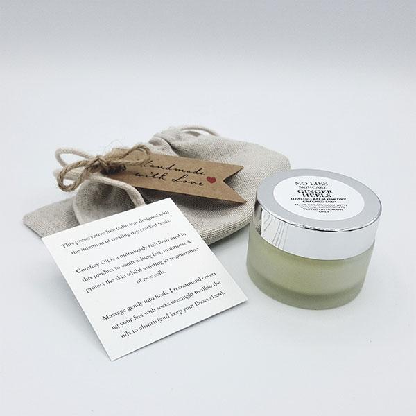 Ginger Heels – Healing Balm For Dry Cracked Skin
