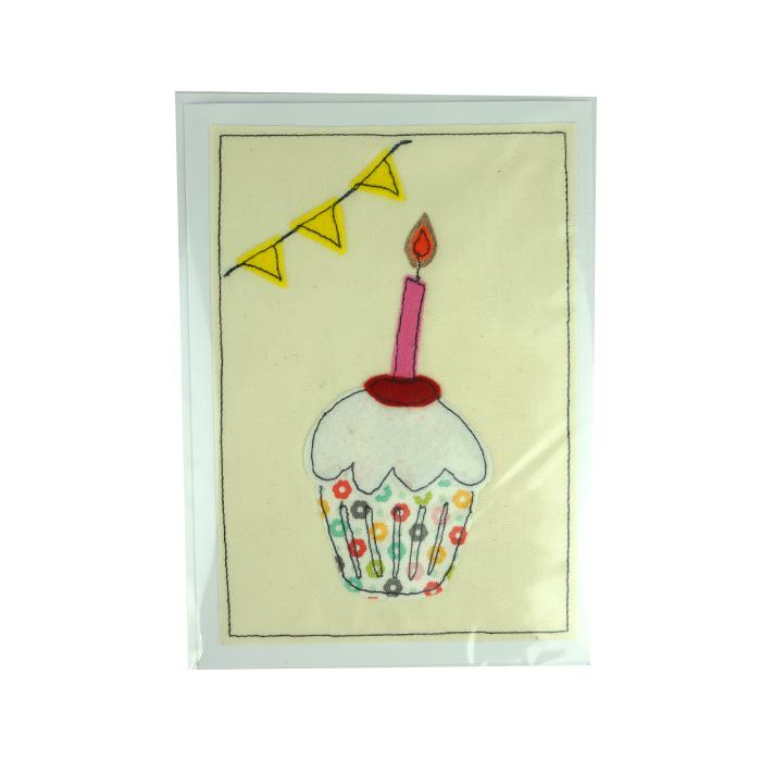 Cup Cake Celebration Card
