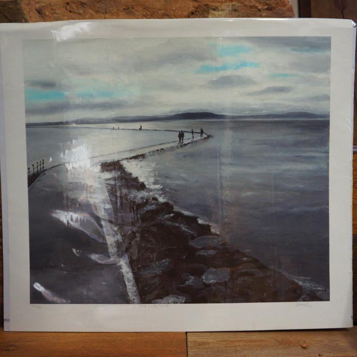 Marine Lake Walk Print