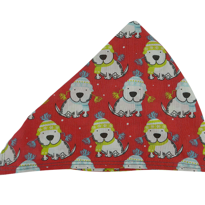 Christmas Dog Neckerchief