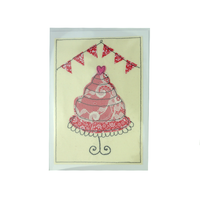 Cake On Stand Celebration Card