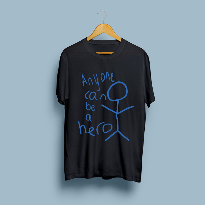 Be A Hero Kids T-Shirt