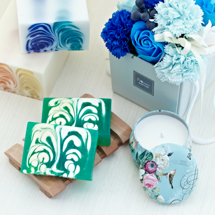 'Wild & Natural' Range Of Hand Crafted Soaps