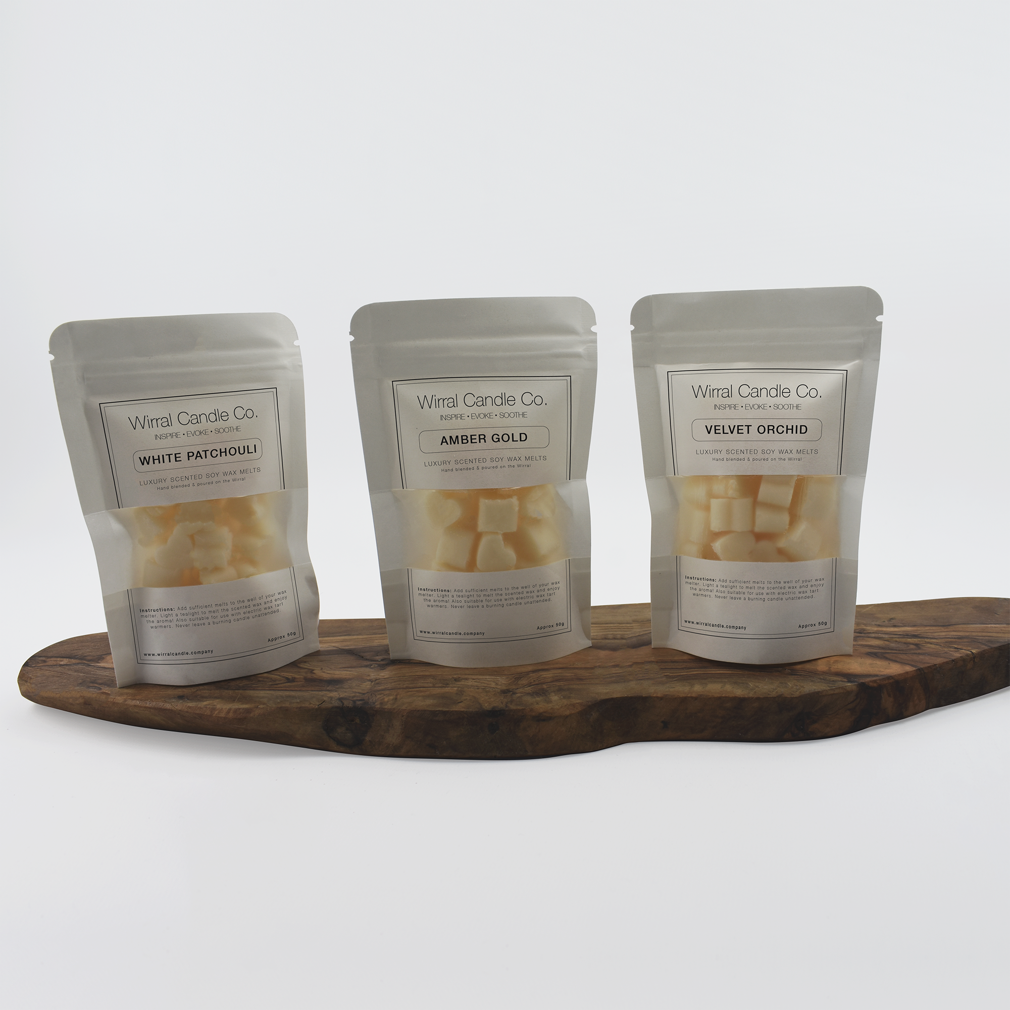 Luxury Scented Soy Melts | 50g Sample Pack Size