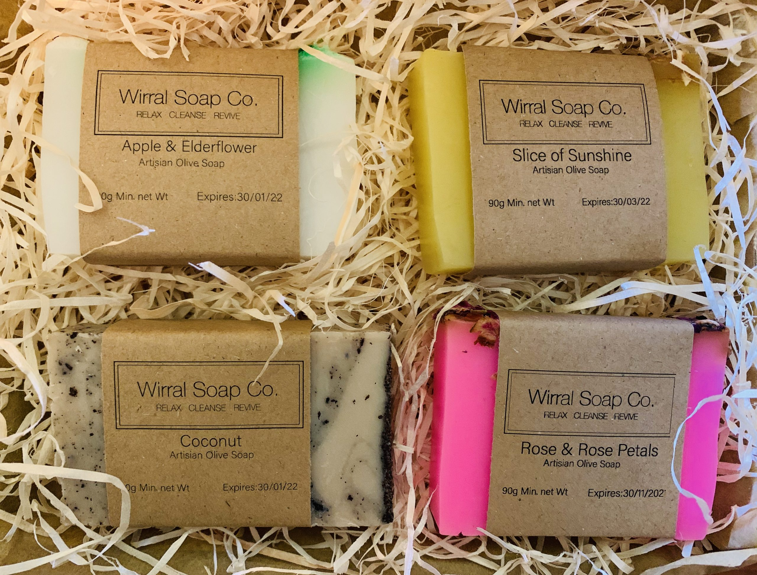 Soap Sampler Quartet