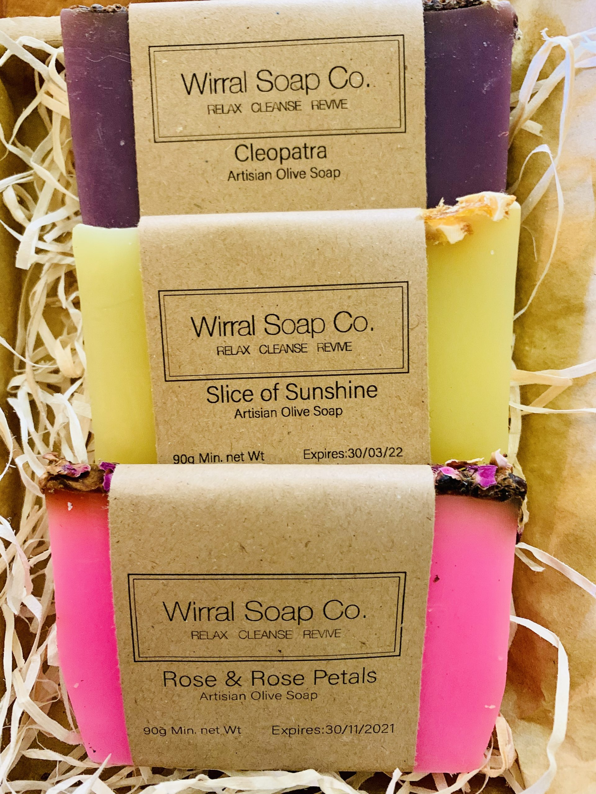 Soap Sampler Trio
