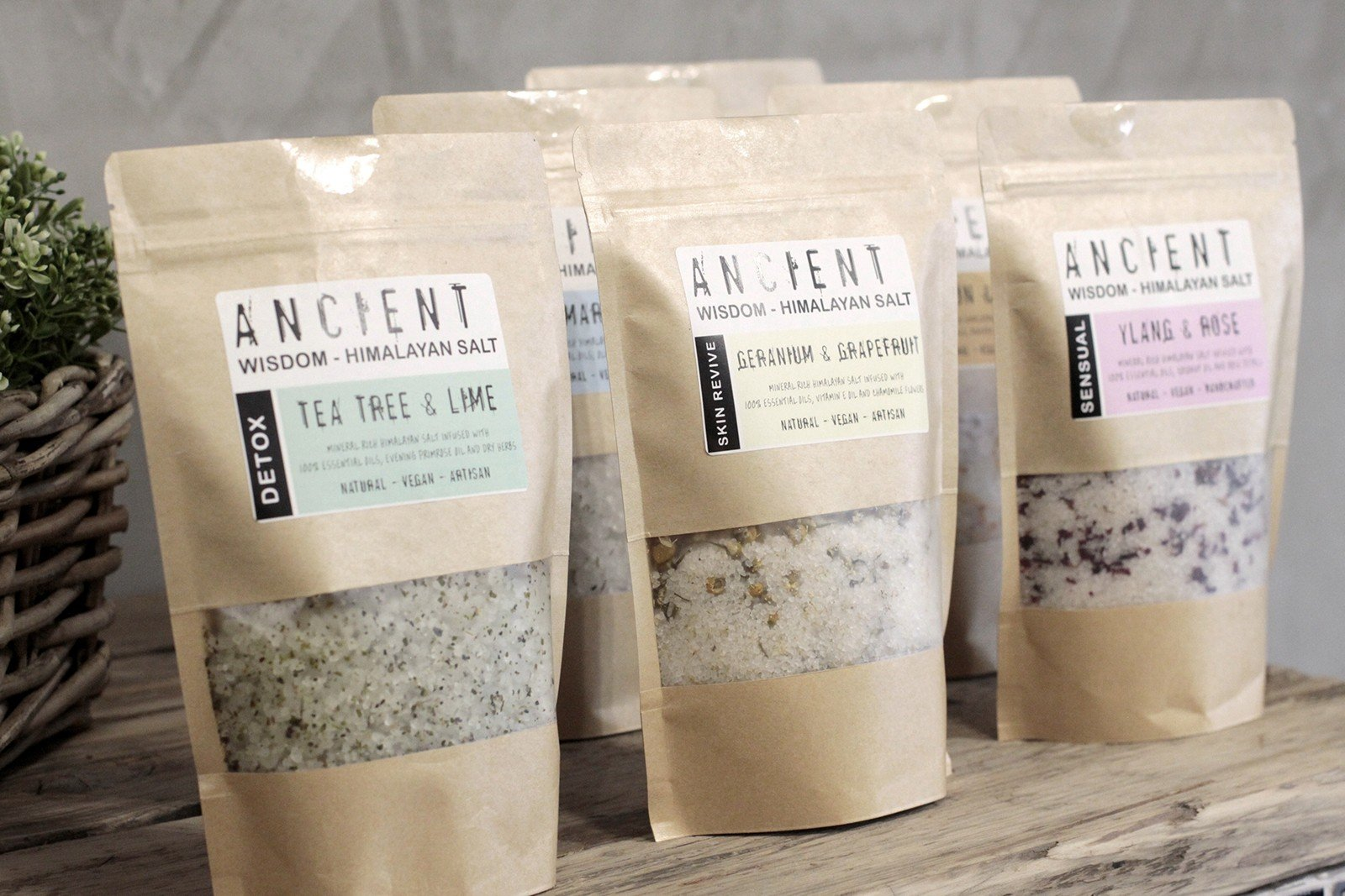 Himalayan Bath Salt Blends 500g
