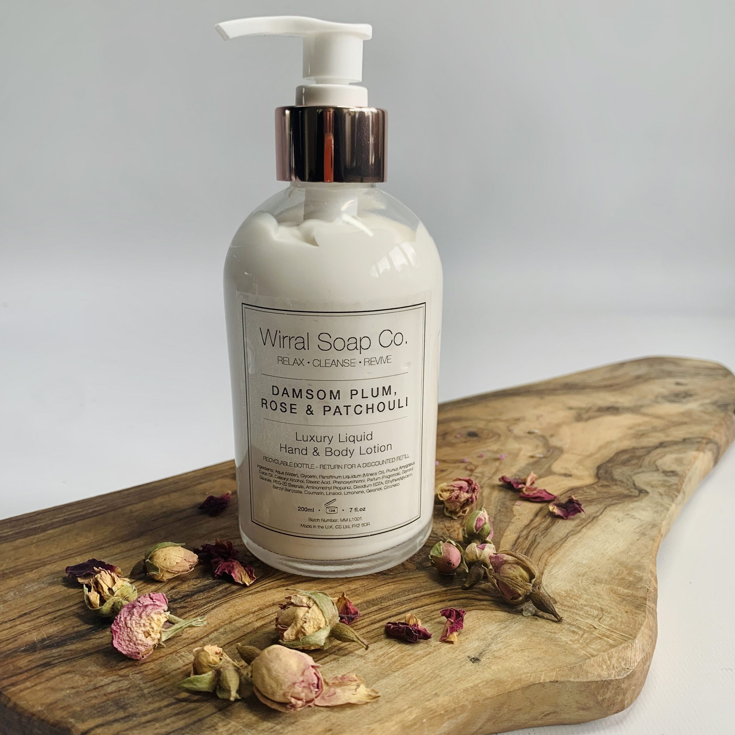 Luxury Liquid Hand & Body Lotion