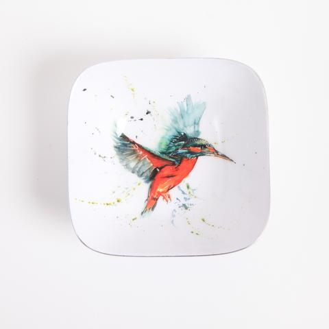Meg Hawkins Collection – Kingfisher Square Dish