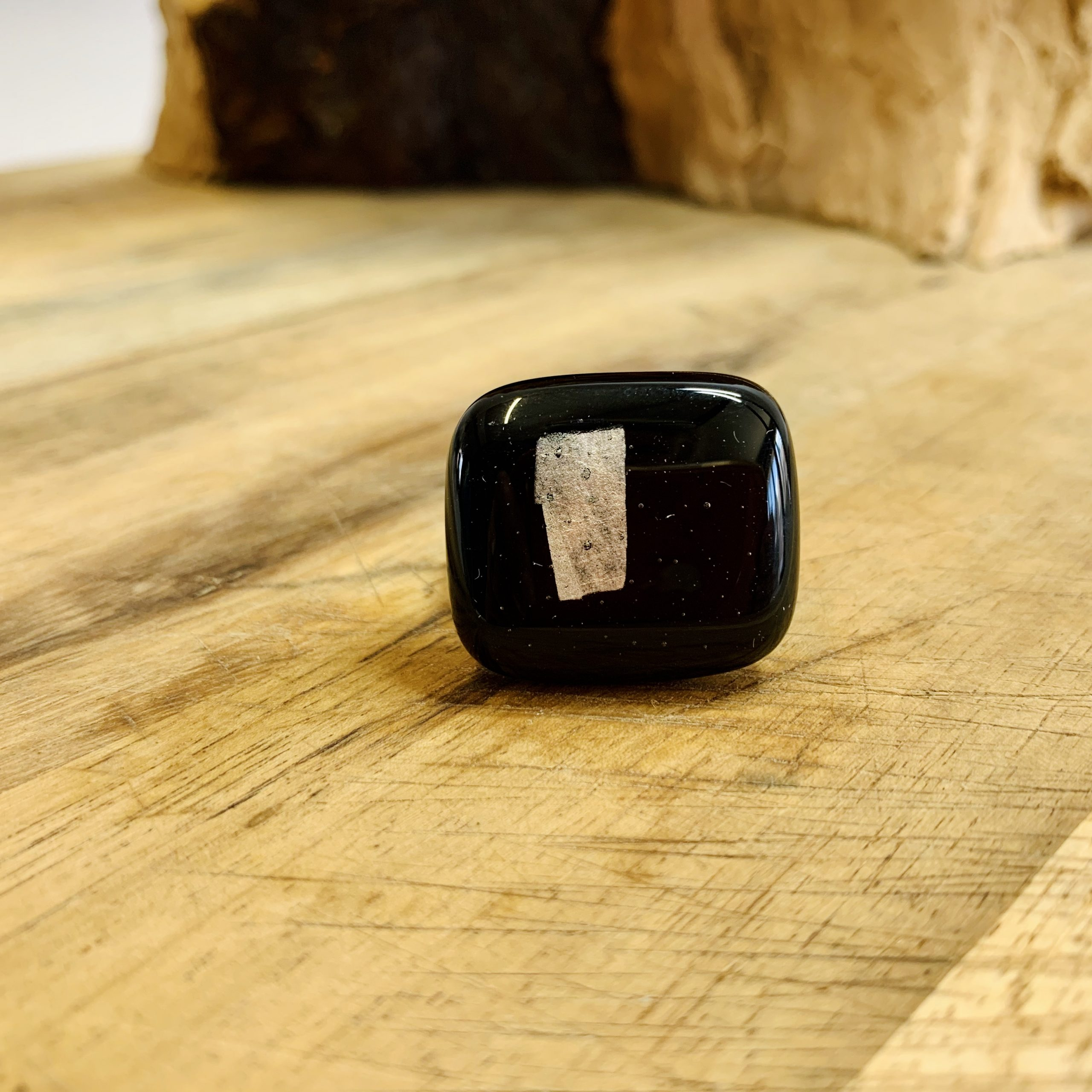 Black & Silver Ring