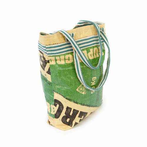 Green Cement Shopping Bag