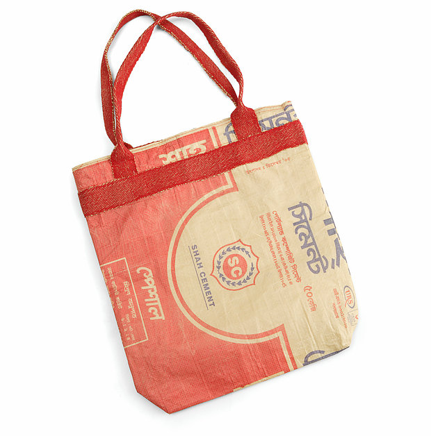 Recycled Cement Shopping Bag