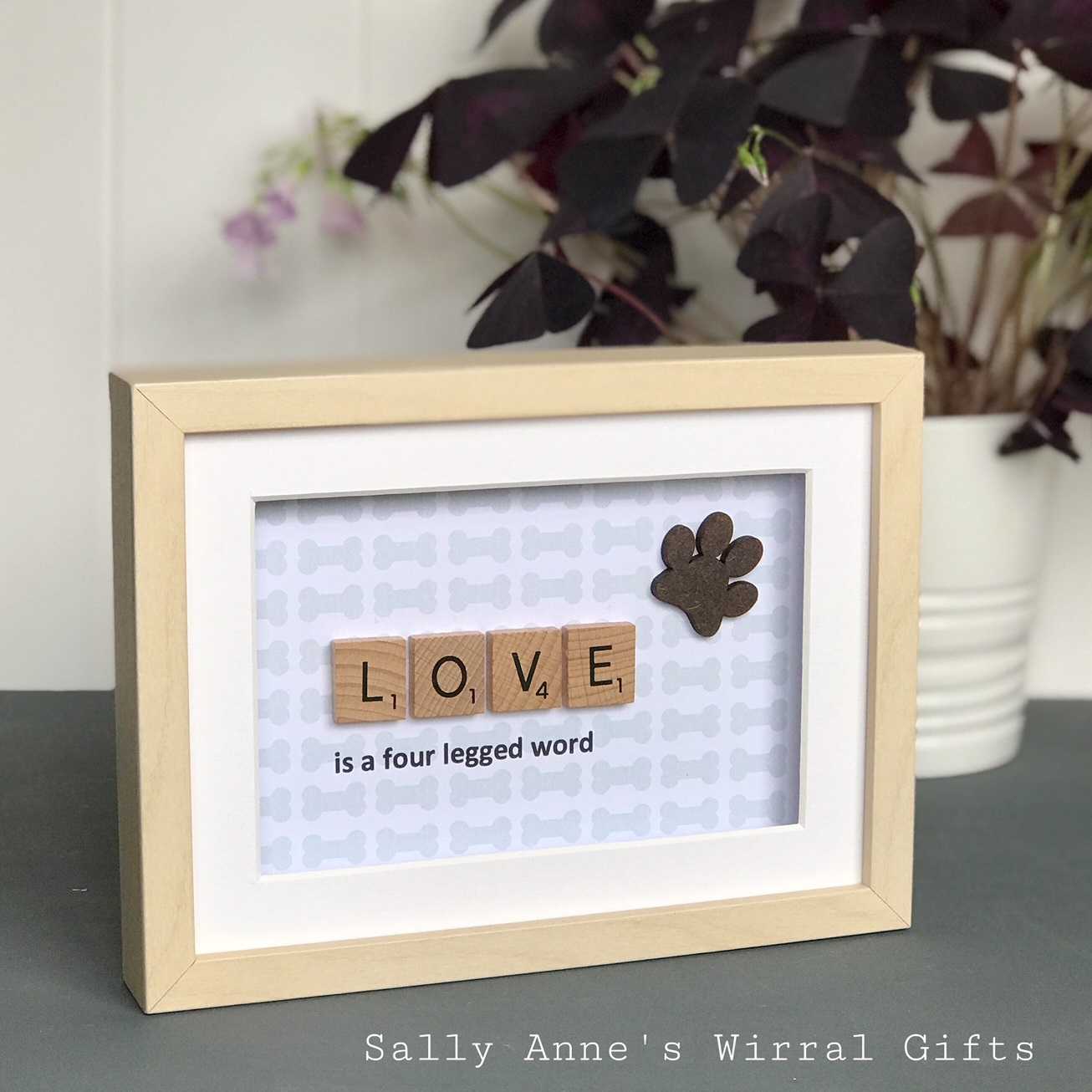 Love Is A 4 Legged Word – Dog Frame