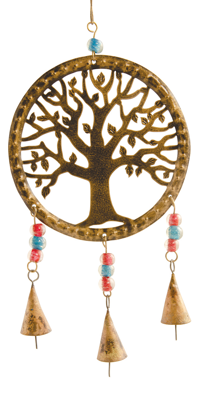 Tree Of Life Wind Chime With Bells