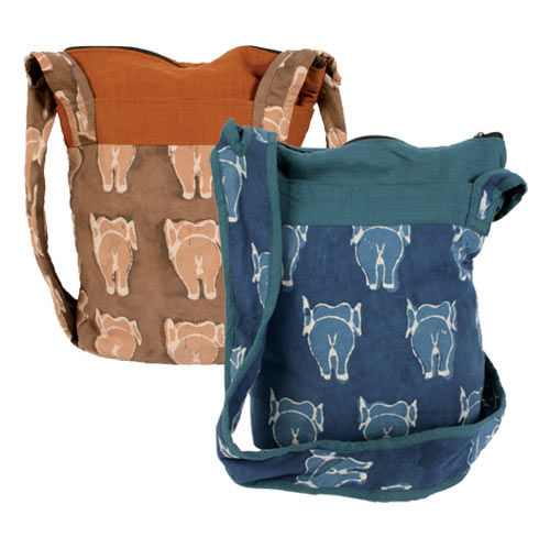 Cross Body Elephant Boat Bag