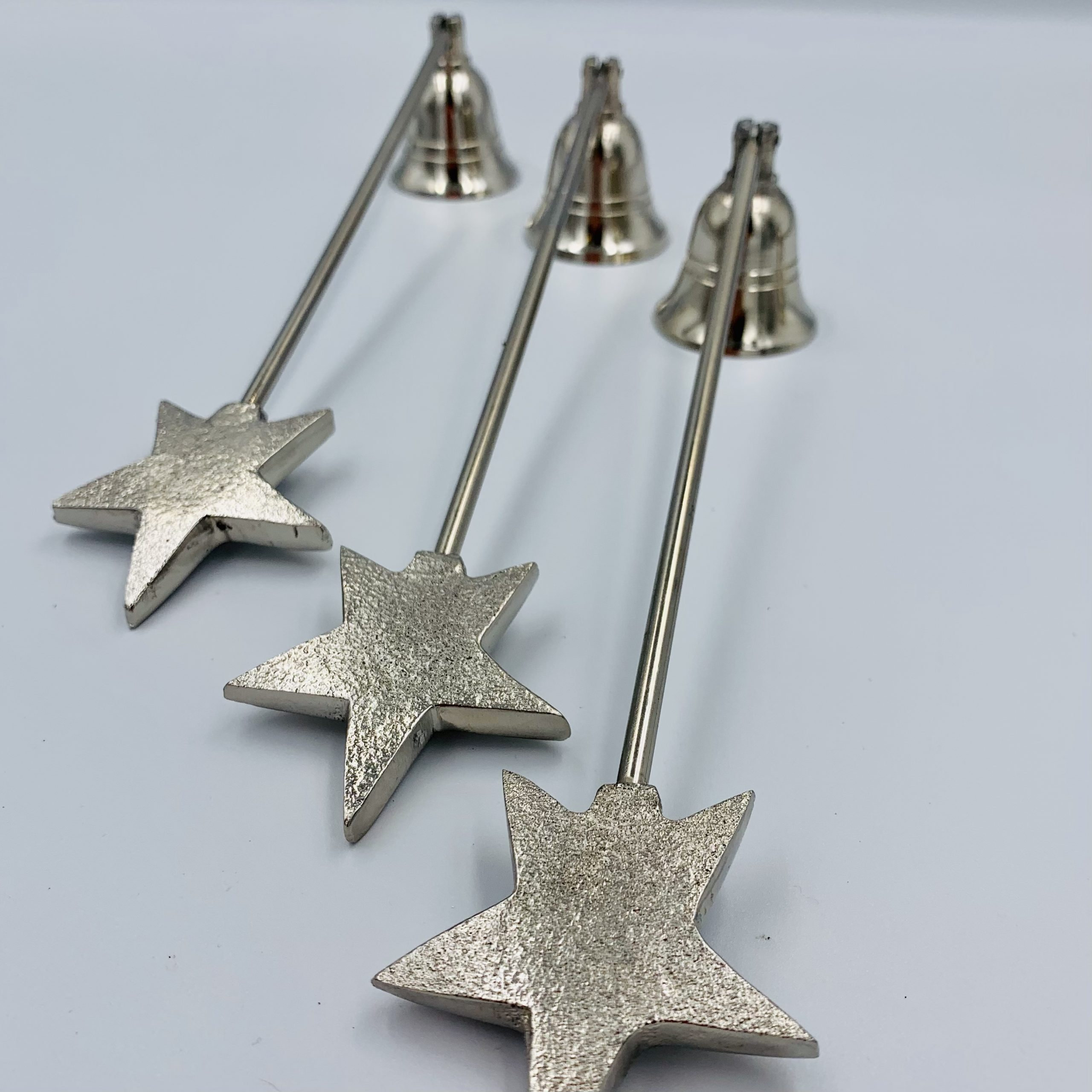 Silver Candle Snuffer (stag Or Star Options)