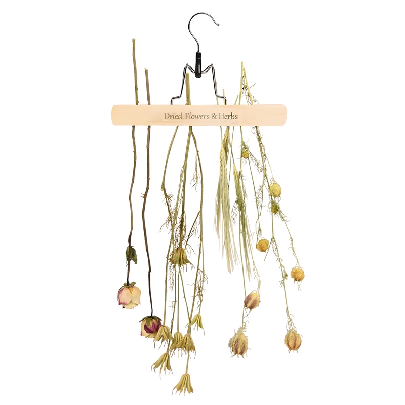 Flower And Herb Drying Rack