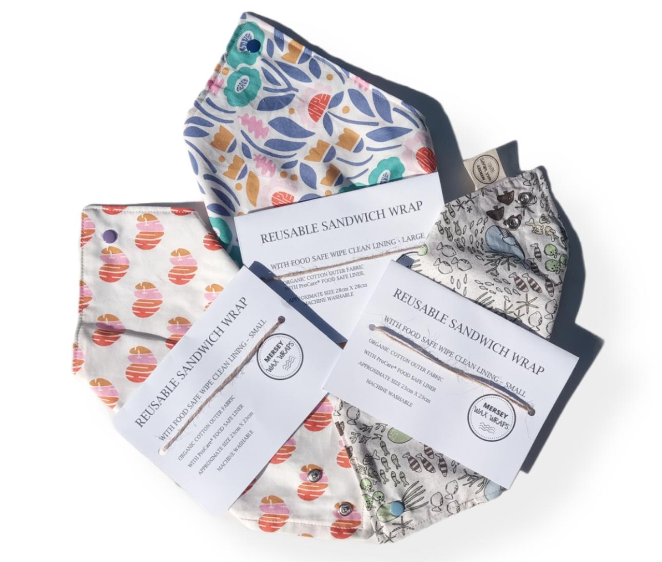 Organic Cotton Sandwich Wraps – Adult