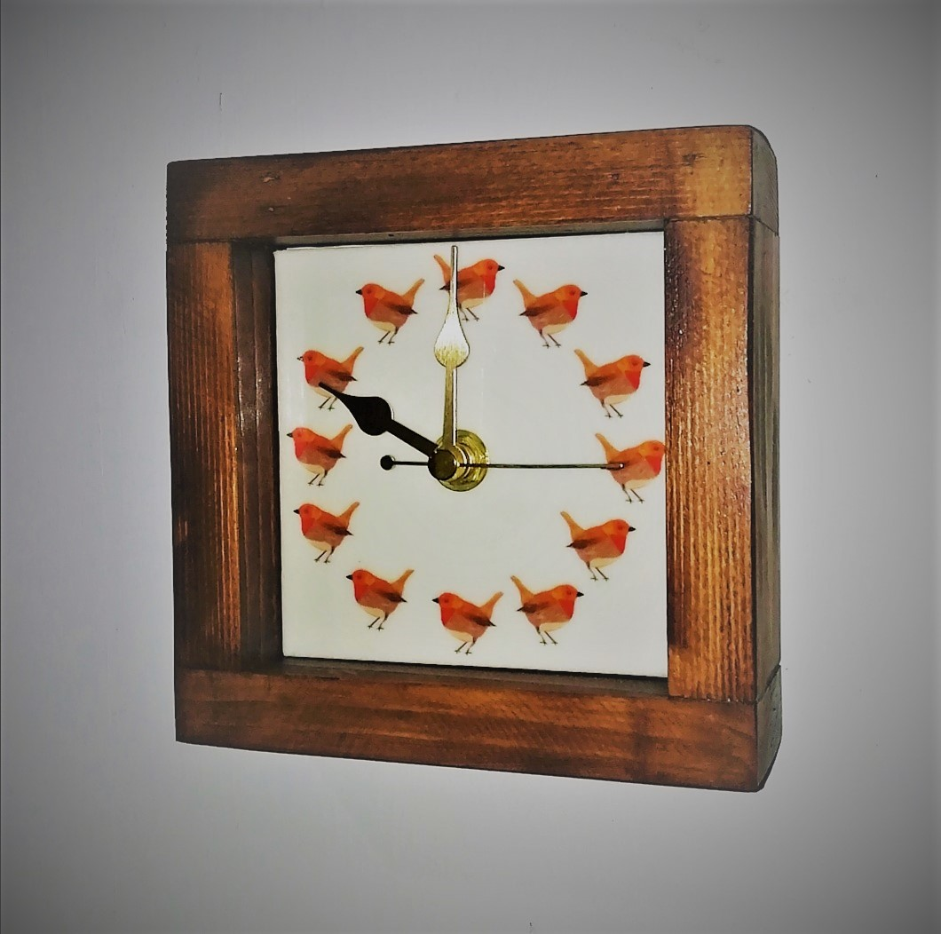 Square Robin Clock