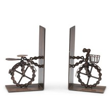 Bike Chain Bicycle Bookends