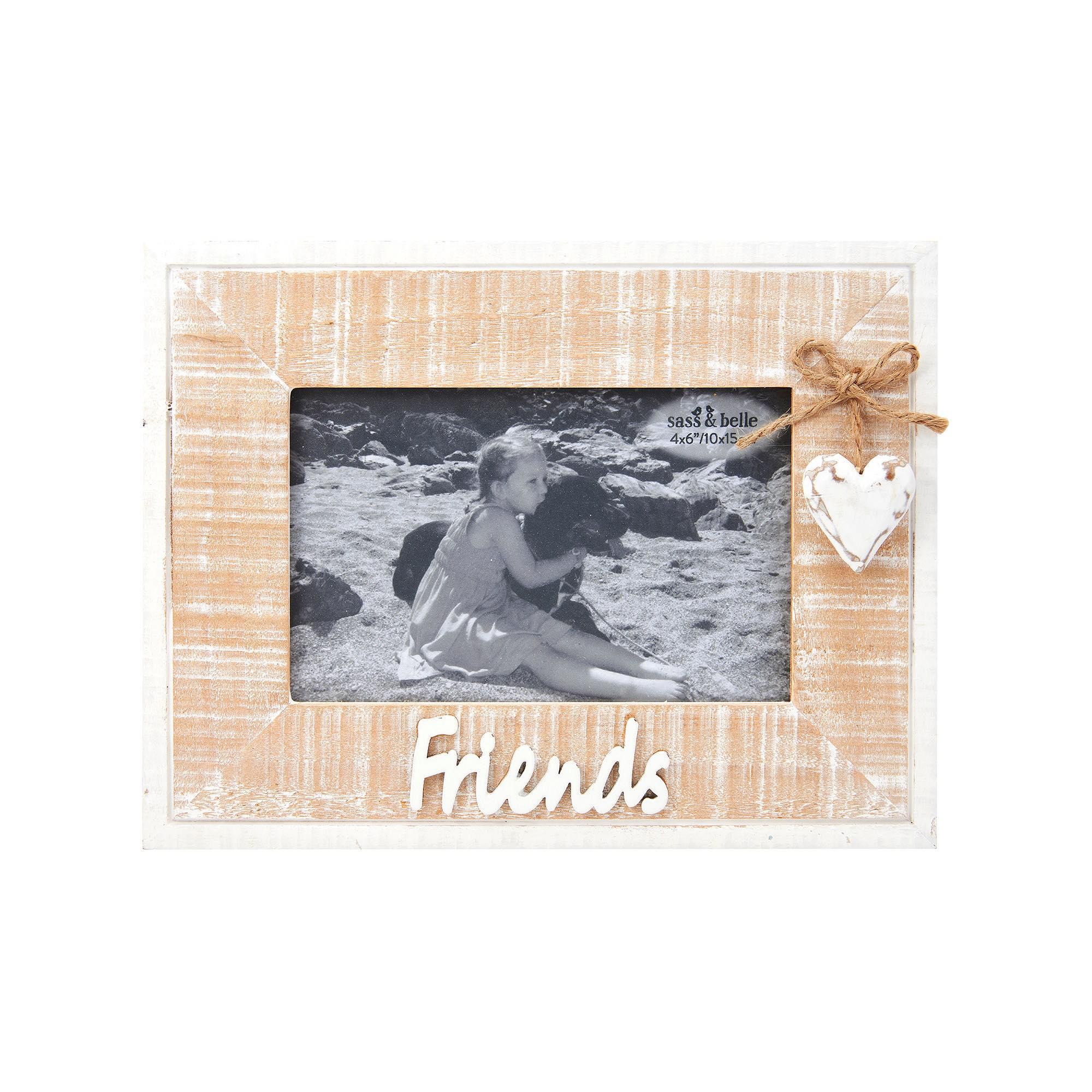 Rustic Heart Friends Frame