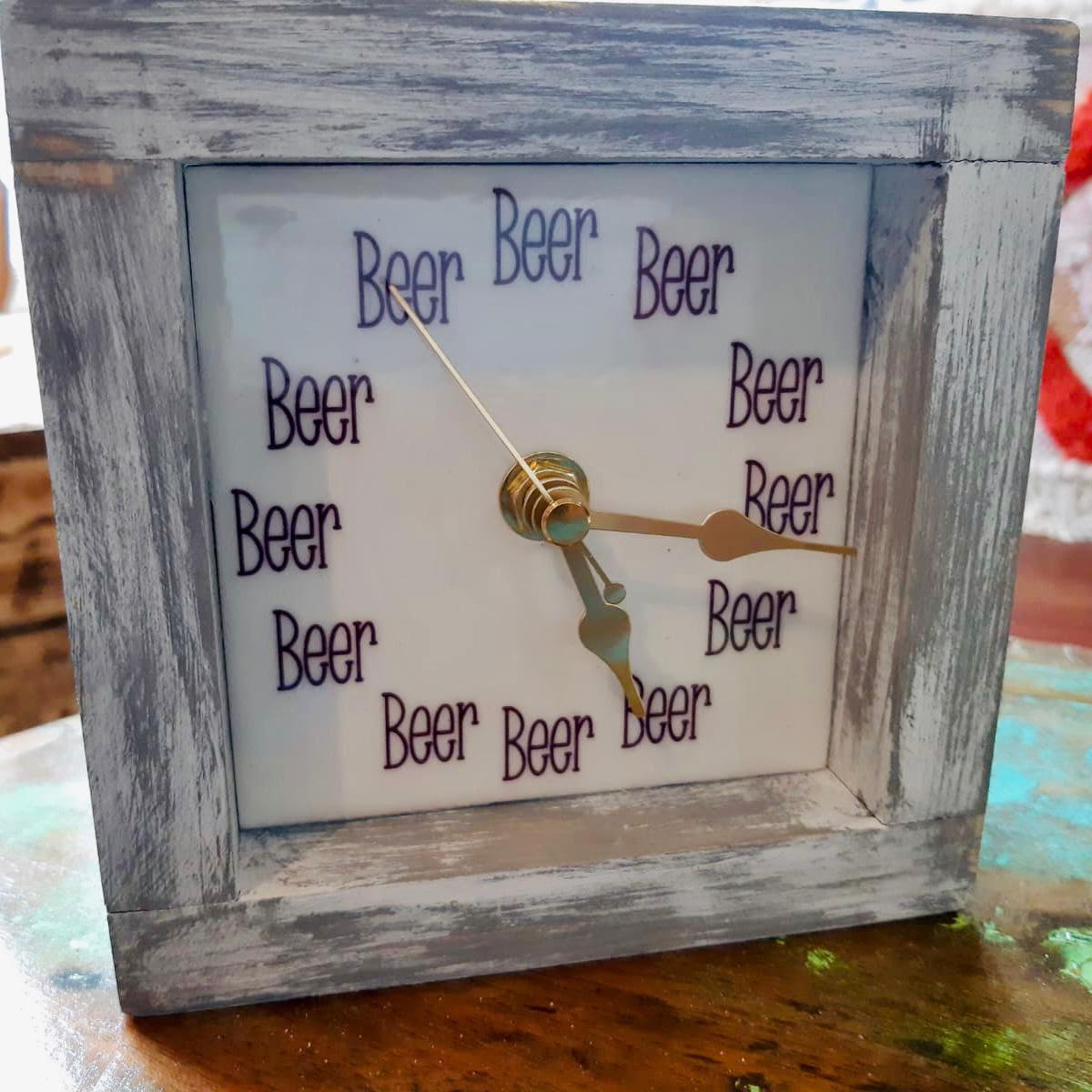 Square Beer Clock